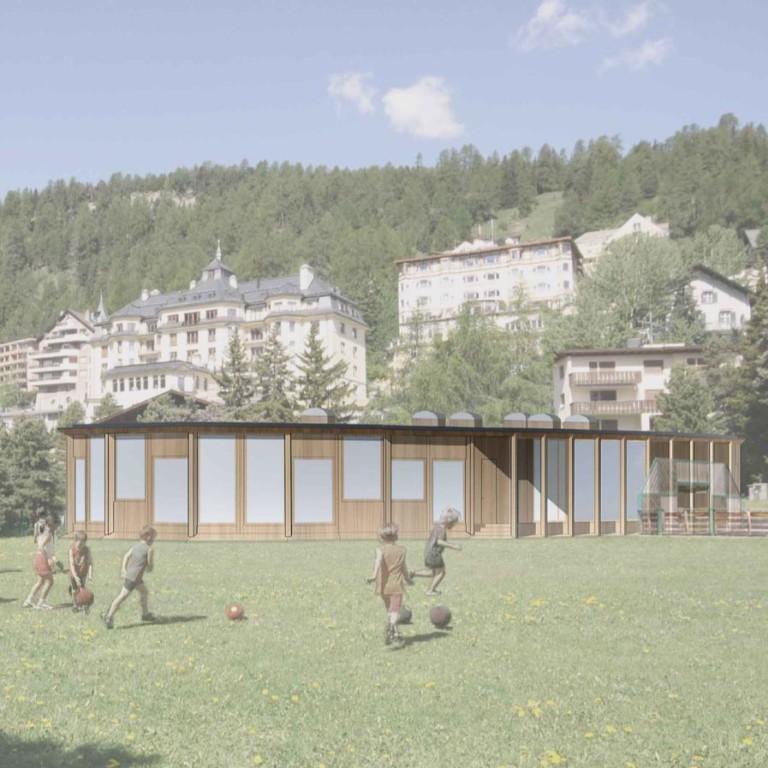 Ringel Ringel Reihe, St.Moritz