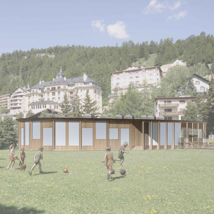 Ringel Ringel Reihe Kita St Moritz